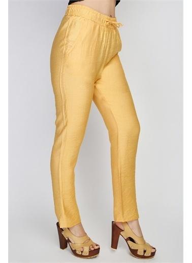 Rodi Jeans Kadın Angel Airobinli Jogger Pantolon Rd21Yb012014 Hardal